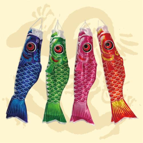 GTG-0826<BR>100公分鯉魚旗