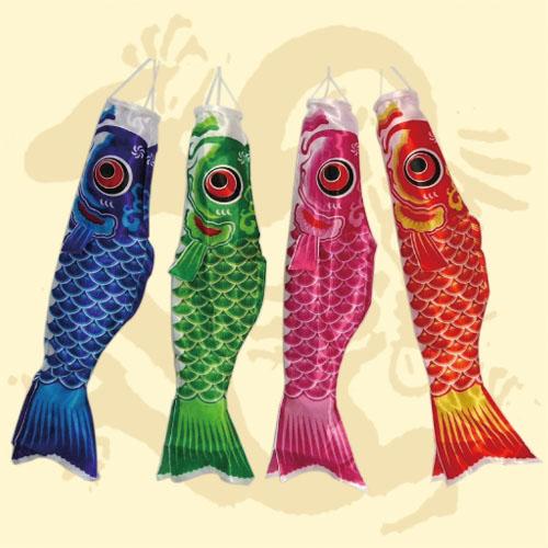 GTG-0827<BR>155公分鯉魚旗