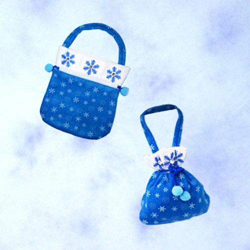 "GTH-1708<BR>9""冰雪公主提袋"