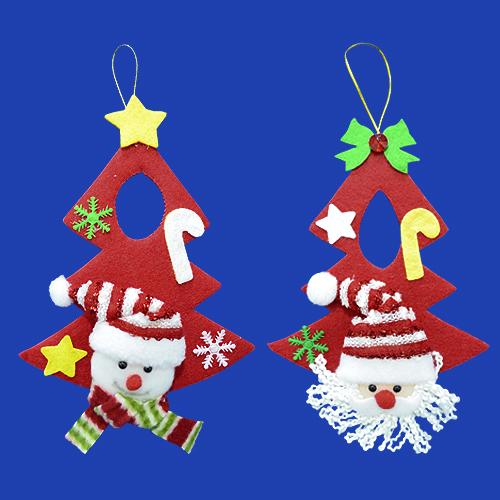 """GTX-5556<BR>8""""可愛聖誕樹型布吊飾"""
