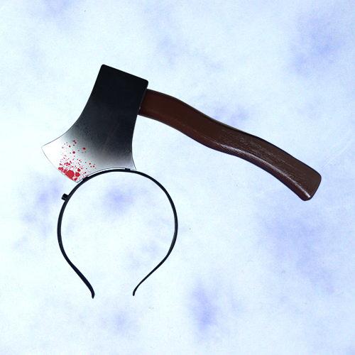 GTH-1812<BR>搞怪穿頭斧髮箍