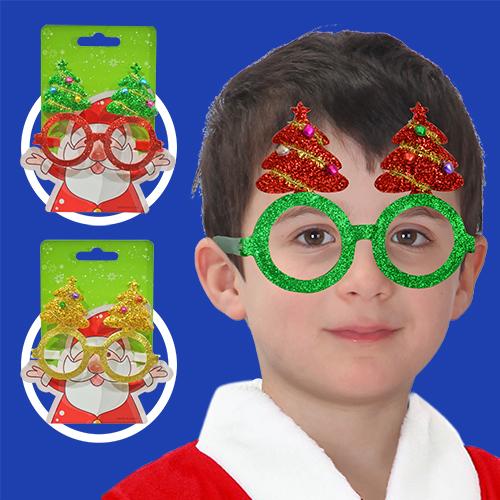 GTX-5668<BR>俏皮聖誕樹眼鏡