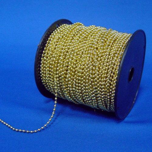 LF001-2.5<BR>2.5mm金珠串(100Y)